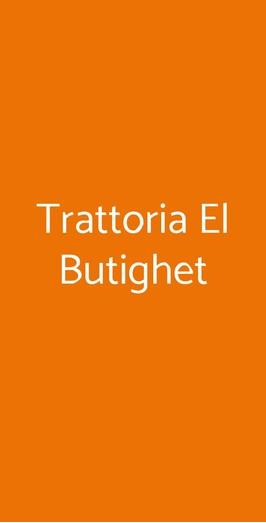 Trattoria El Butighet, Rovato