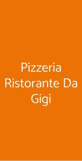 Pizzeria Ristorante Da Gigi, Venezia