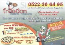 Freedom, Reggio Emilia