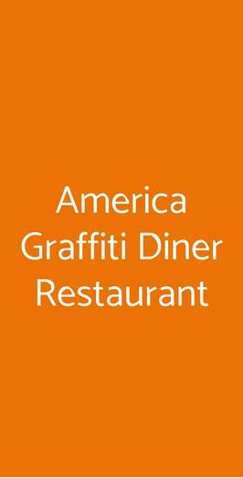 America Graffiti Diner Restaurant , Ancona