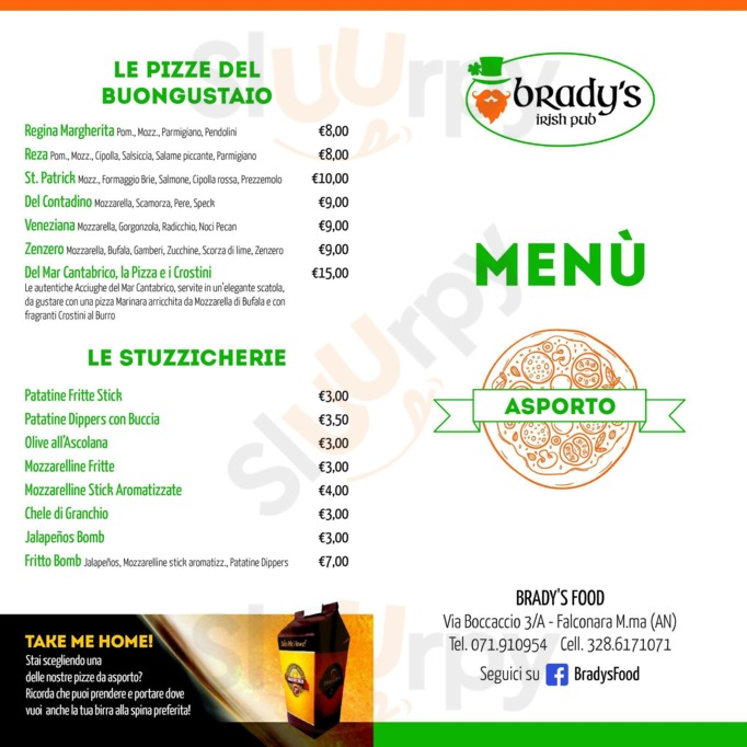 Brady's Food Irish Pub, Falconara Marittima
