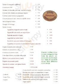 Menu Osteria di Montecodruzzo