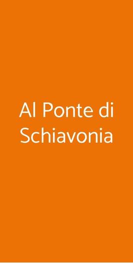 Al Ponte Di Schiavonia, Forli