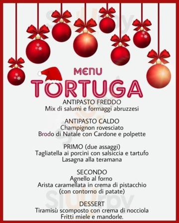 Menu Tortuga club