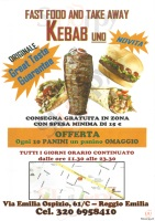 Kebab Uno, Reggio Emilia