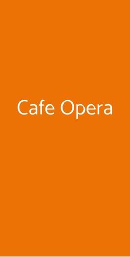 Cafe Opera, Recanati