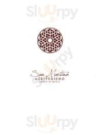 Menu Agriturismo San Martino