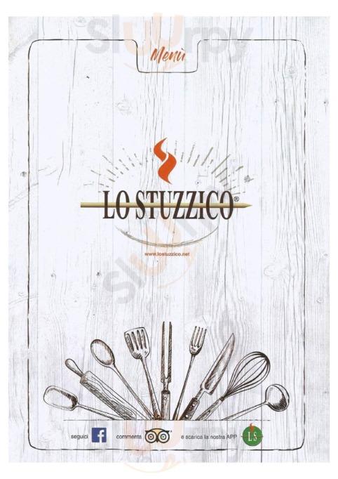 Menu Lo Stuzzico