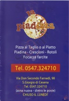 La Piadizza, Cesena