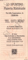 Lo Spuntino, Cremona