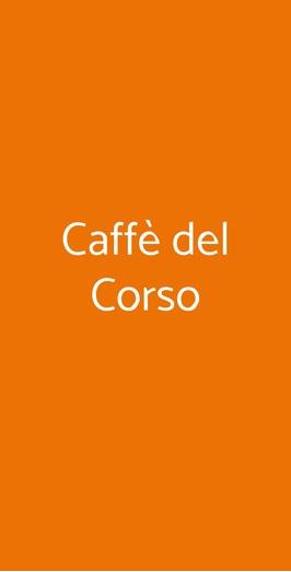 Caffè Del Corso, Fossombrone