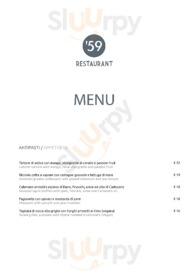 '59 Restaurant & Bistrò, Pesaro