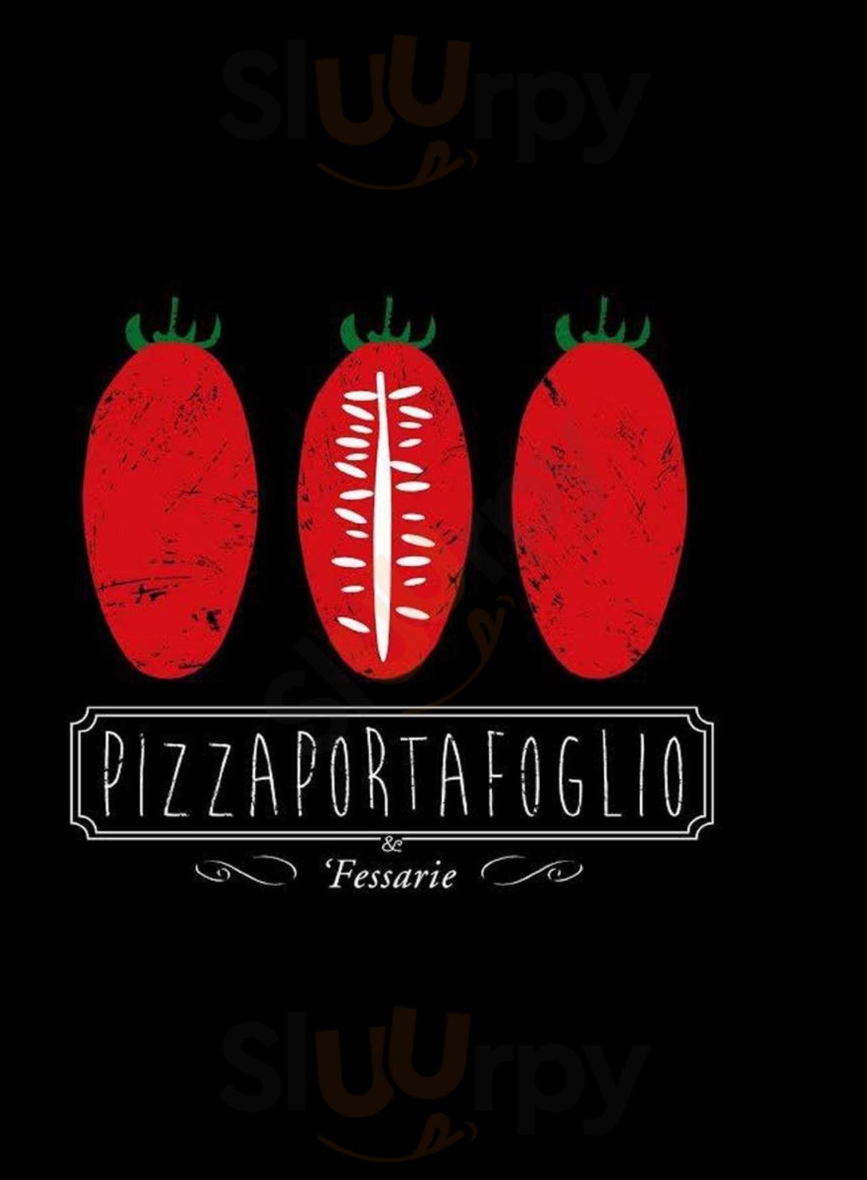 Pizzaportafoglio & Fessarie Salerno menù 1 pagina
