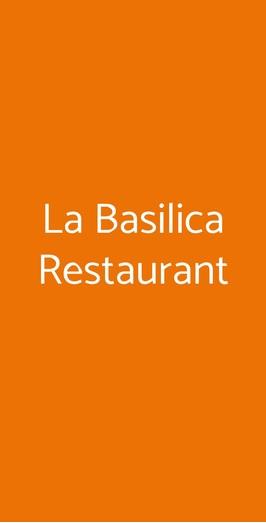 La Basilica Restaurant, Sorrento