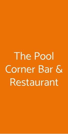 The Pool Corner Bar & Restaurant, Sorrento