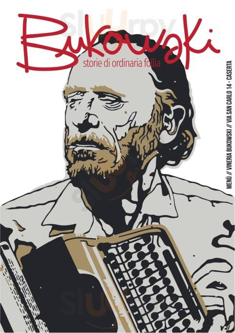 Menu Vineria Bukowski
