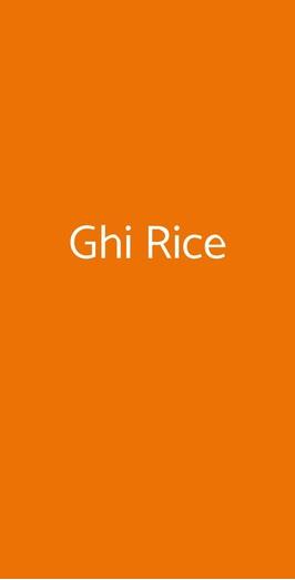 Ghi Rice, Napoli