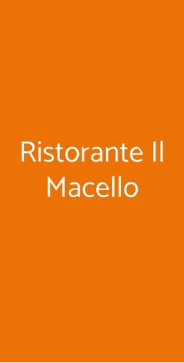 Ristorante Il Macello, Napoli