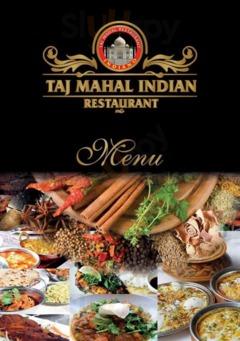 Menu Taj Mahal Ristorante Indiano