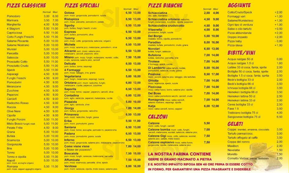 Risto Pizza, Cesena