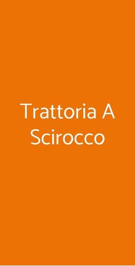 Trattoria A Scirocco, Bacoli