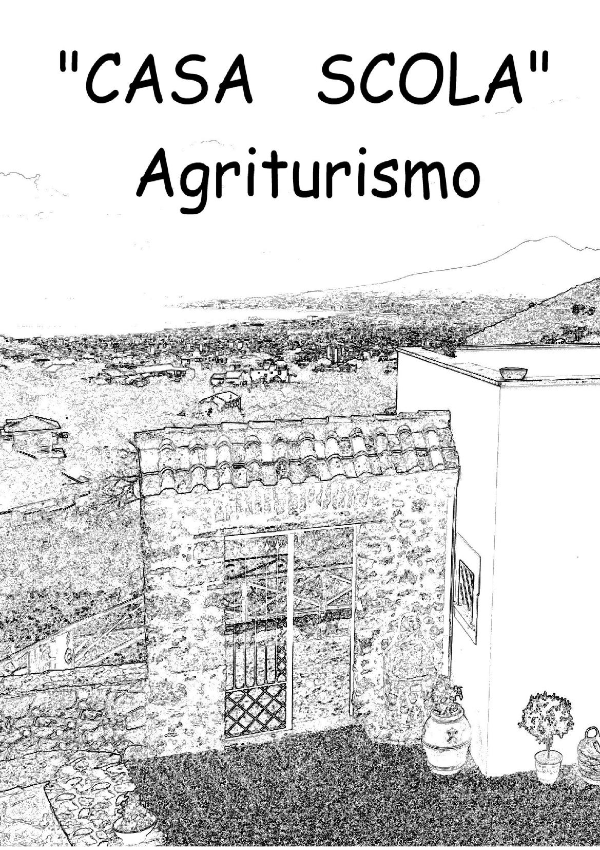 Casa Scola Gragnano menù 1 pagina