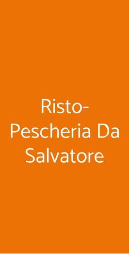 Risto-pescheria Da Salvatore, Napoli
