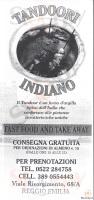 Tandoori Indiano, Reggio Emilia