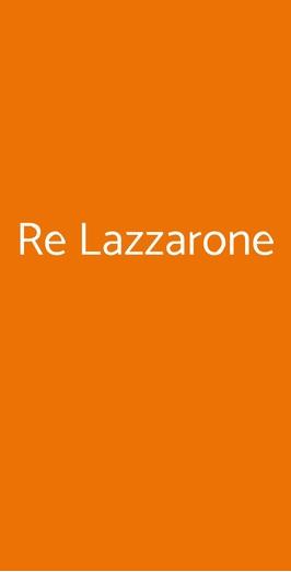 Re Lazzarone, Napoli