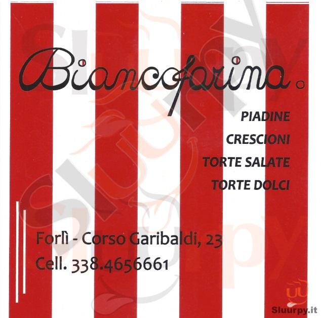 BIANCOFARINA Forli' menù 1 pagina
