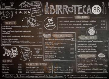 Birroteca 88, Cattolica
