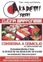 Akademi Sushi, Torino