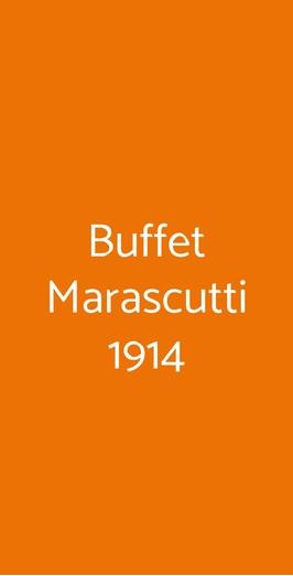 Buffet Marascutti 1914, Trieste