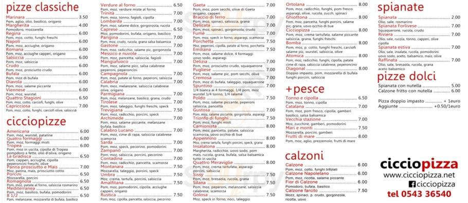Ciccio Pizza, Forli