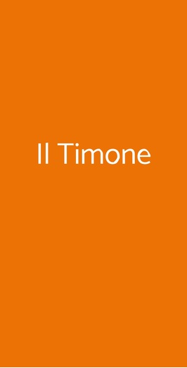Il Timone, Frascati