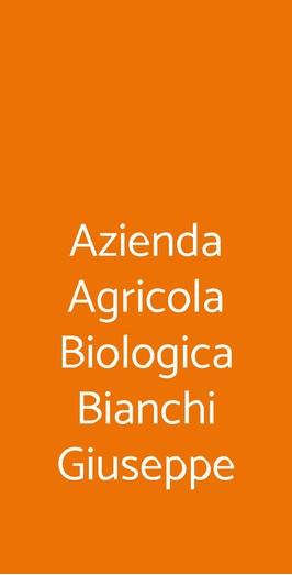 Azienda Agricola Biologica Bianchi Giuseppe, Sizzano