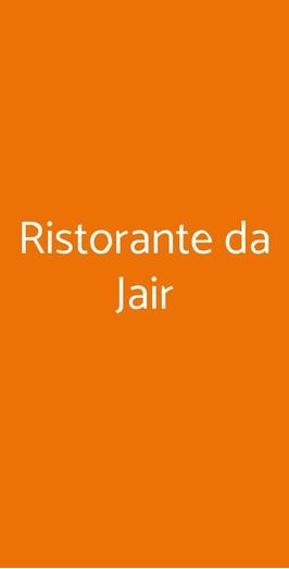Ristorante Da Jair, Fiumicino