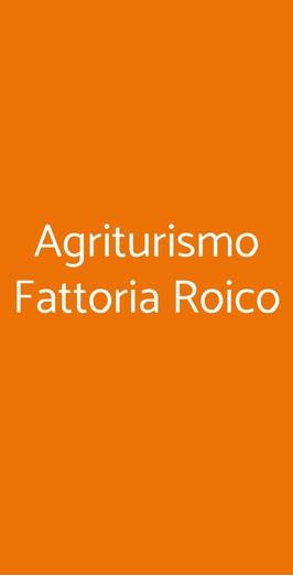 Agriturismo Fattoria Roico, Montiglio Monferrato