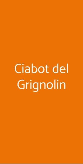 Ciabot Del Grignolin, Calliano