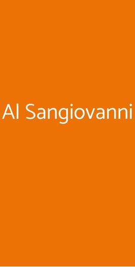 Al Sangiovanni, Asti