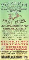 Fast Pizza, Torino