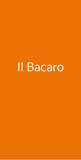 Il Bacaro, Roma