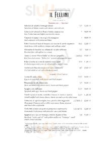 Il Fellini Restaurant, Roma