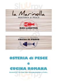 Menu La Marinella
