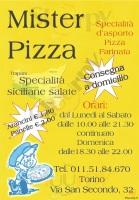 Mister Pizza, Torino