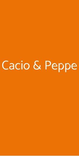 Cacio & Peppe, Roma