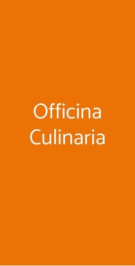 Officina Culinaria, Lido di Ostia