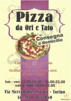 Pizza Da Ori E Tafo, Torino