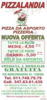 Pizzalandia, Torino