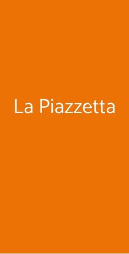 La Piazzetta, Roma